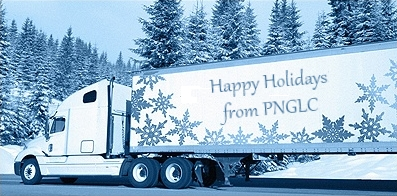 holiday greetings flat