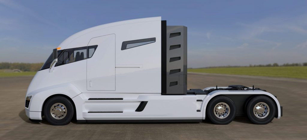 At A Recent Event Elon Musk Unveiled The New Tesla Electric Semi Truck With Following Stats